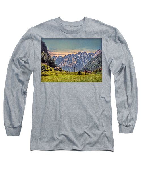 On The Alp Long Sleeve T-Shirt by Hanny Heim