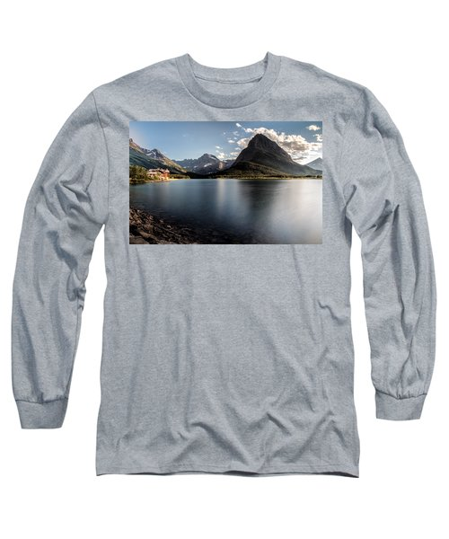 On The Edge Long Sleeve T-Shirt by Aaron Aldrich
