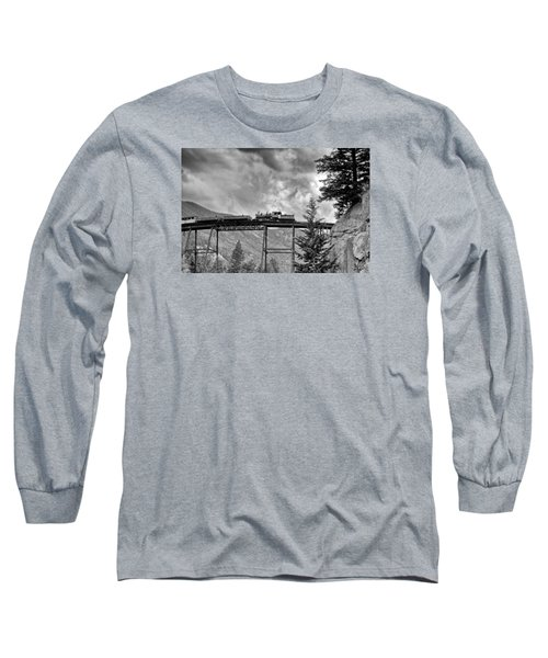 On The High Bridge Long Sleeve T-Shirt by Shelly Gunderson