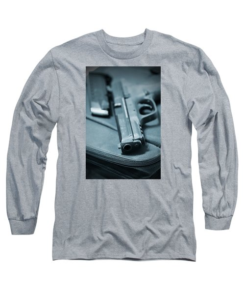 On The Lam Long Sleeve T-Shirt by Trish Mistric