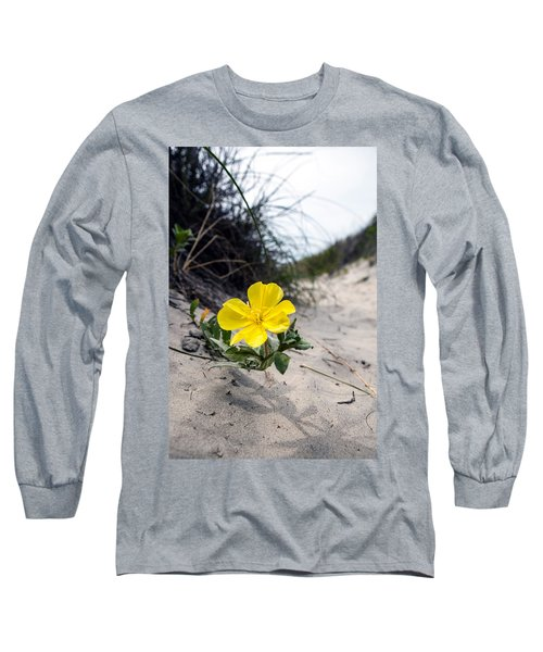 Long Sleeve T-Shirt featuring the photograph On The Path by Sennie Pierson