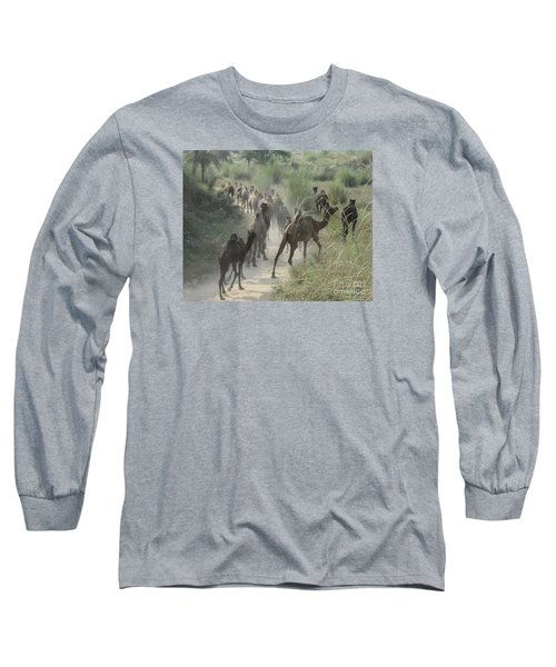 On The Road To Pushkar Long Sleeve T-Shirt