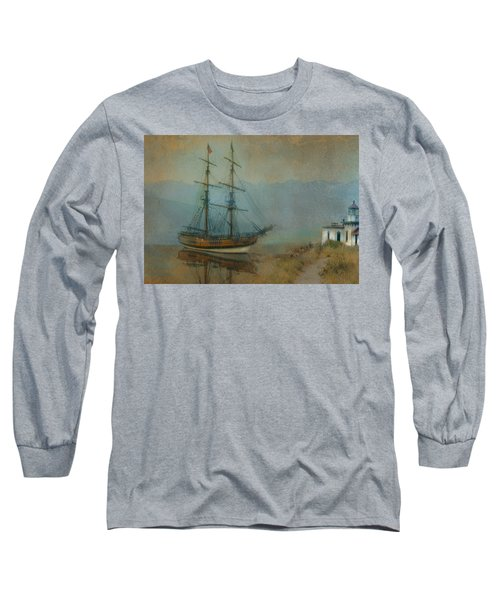 On The Water Long Sleeve T-Shirt by Jeff Burgess