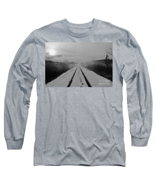 Long Sleeve T-Shirt featuring the photograph One Man's Journey by Michael Cross