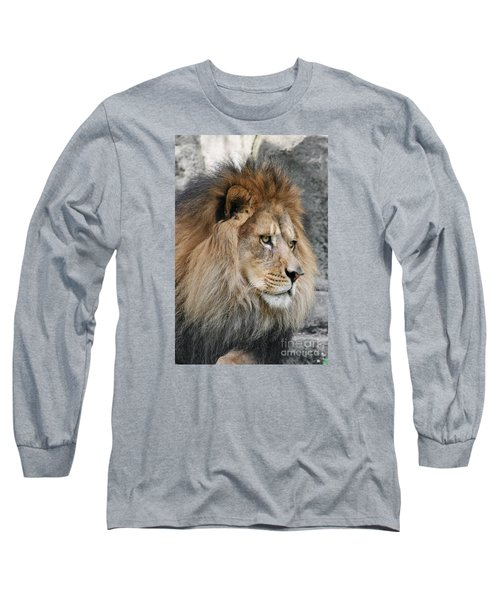 Long Sleeve T-Shirt featuring the photograph Onyo #13 by Judy Whitton