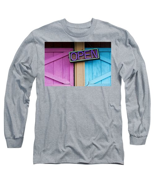 Open Long Sleeve T-Shirt by Paul Wear