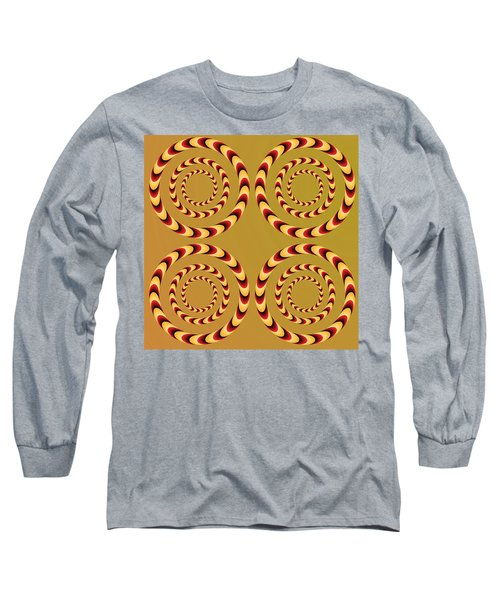 Optical Ilusions Summer Spin Long Sleeve T-Shirt