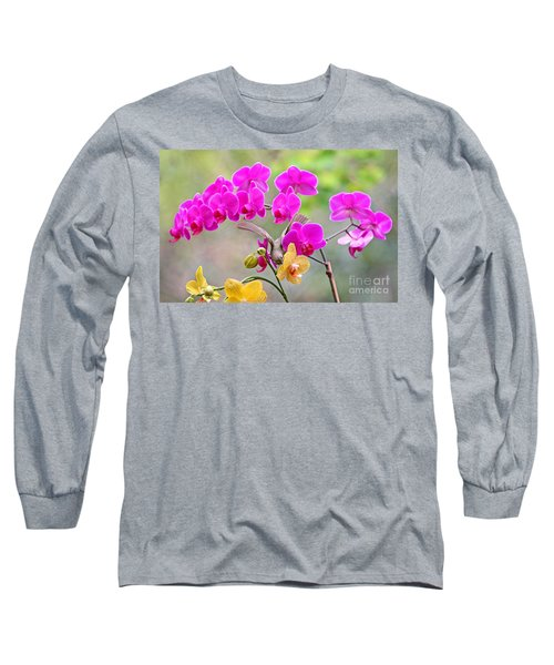 Warbler On Orchards Photo Long Sleeve T-Shirt by Luana K Perez