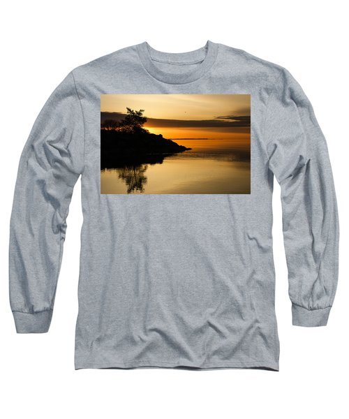 Orange Sunrise Long Sleeve T-Shirt