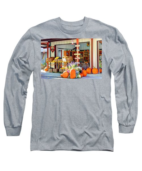 Orchard Valley Market Long Sleeve T-Shirt