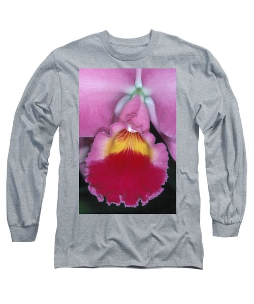 Orchid 8 Long Sleeve T-Shirt by Andy Shomock