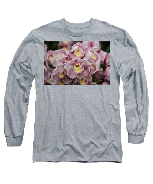 Orchid Bouquet Long Sleeve T-Shirt