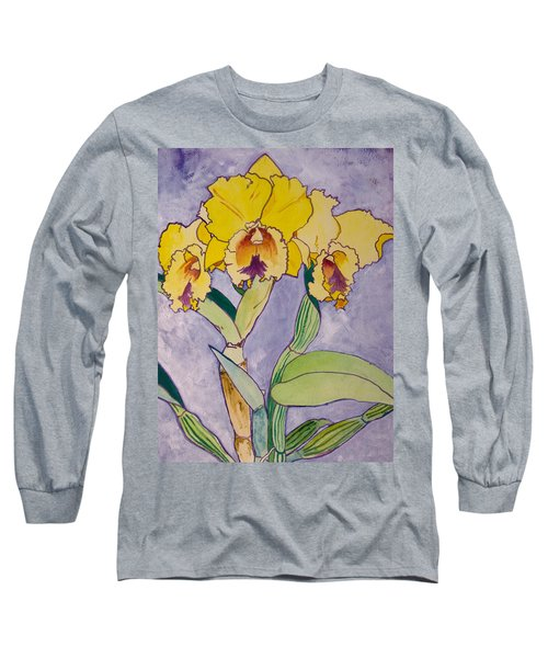 Orchid Study Long Sleeve T-Shirt