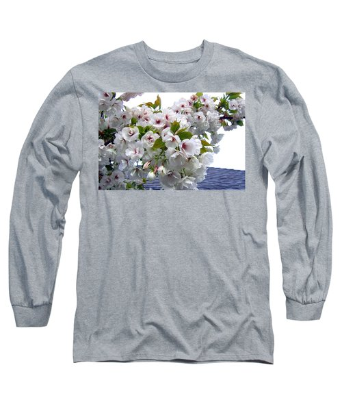 Oregon Cherry Blossoms Long Sleeve T-Shirt