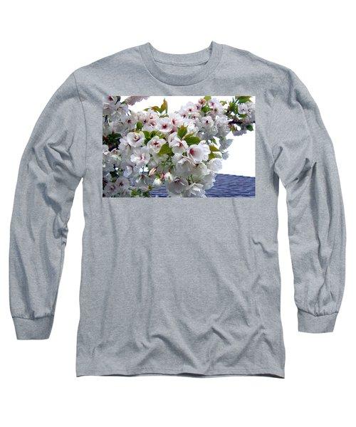 Oregon Cherry Blossoms Long Sleeve T-Shirt