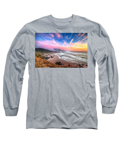 Oregon Sunset Long Sleeve T-Shirt