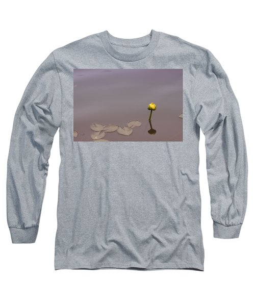 Long Sleeve T-Shirt featuring the photograph Osaka Garden Tranquility by Miguel Winterpacht