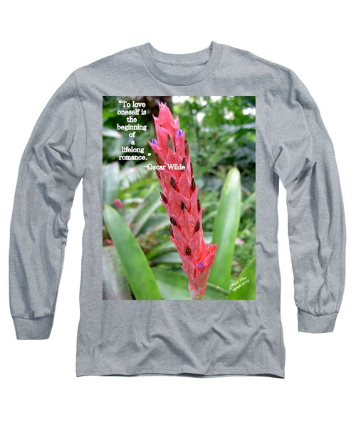 Oscar Wilde Long Sleeve T-Shirt