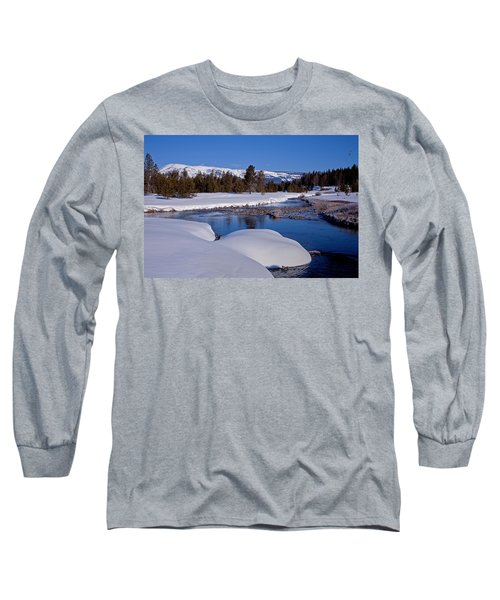 Long Sleeve T-Shirt featuring the photograph Otter Creek by Jack Bell