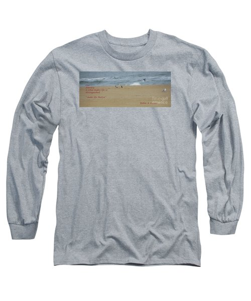 Long Sleeve T-Shirt featuring the photograph Our Journey  by Robin Coaker
