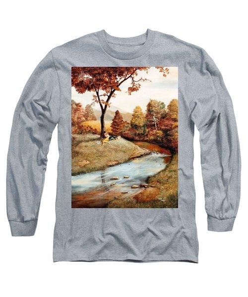Our Secret Place Long Sleeve T-Shirt by Duane R Probus
