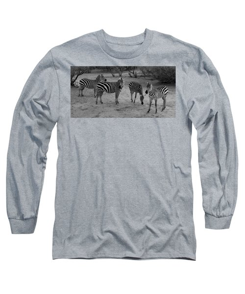 Out Of Africa  Zebras Long Sleeve T-Shirt