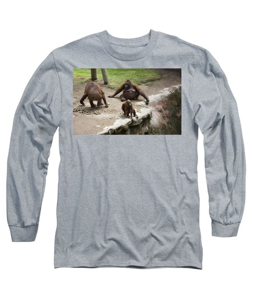 Out Of Reach Long Sleeve T-Shirt by Lynn Palmer