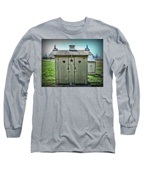 Outhouse - His And Hers Long Sleeve T-Shirt