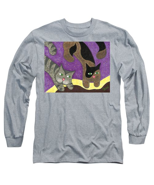 Over Cover Cats Long Sleeve T-Shirt