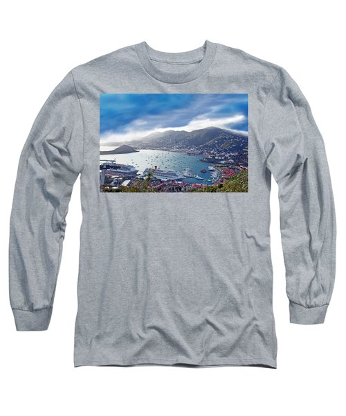 Overlooking The Bay Long Sleeve T-Shirt