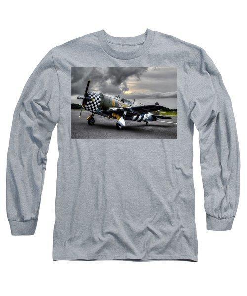 P-47 Sunset Long Sleeve T-Shirt