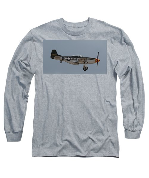 P-51 Landing Configuration Long Sleeve T-Shirt
