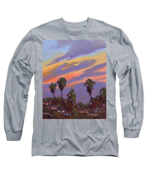 Pacific Sunset 1 Long Sleeve T-Shirt