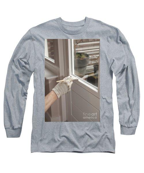 Painting A Door Long Sleeve T-Shirt