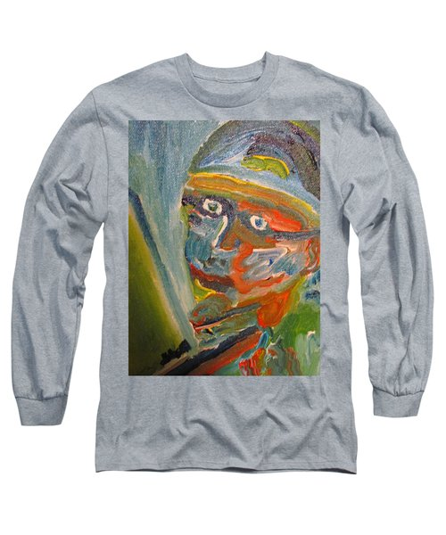 Painting Myself Long Sleeve T-Shirt