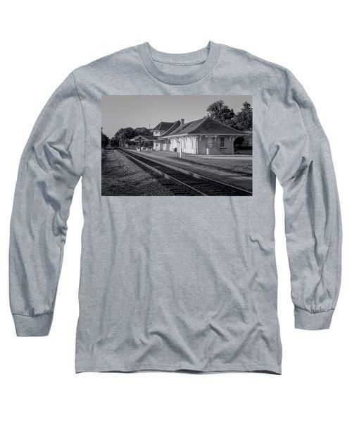 Palatka Train Station Long Sleeve T-Shirt