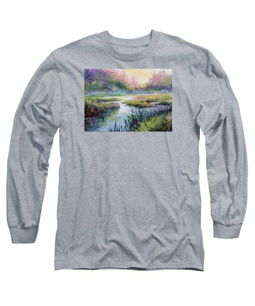 Palmer Hayflats Long Sleeve T-Shirt by Karen Mattson