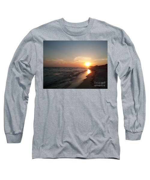 Panama City Beach Sunset Long Sleeve T-Shirt