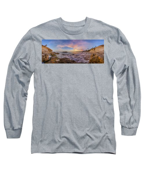 Panorama The Whole Way Round The Cove Long Sleeve T-Shirt