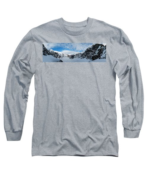 Panoramic View From The Top Long Sleeve T-Shirt