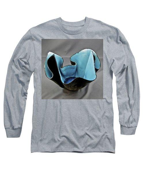 Paper-thin Bowl  09-003 Long Sleeve T-Shirt by Mario Perron