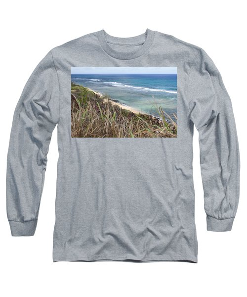 Long Sleeve T-Shirt featuring the photograph Paradise Overlook by Suzanne Luft