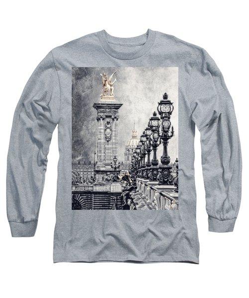 Paris Pompous 2 Long Sleeve T-Shirt