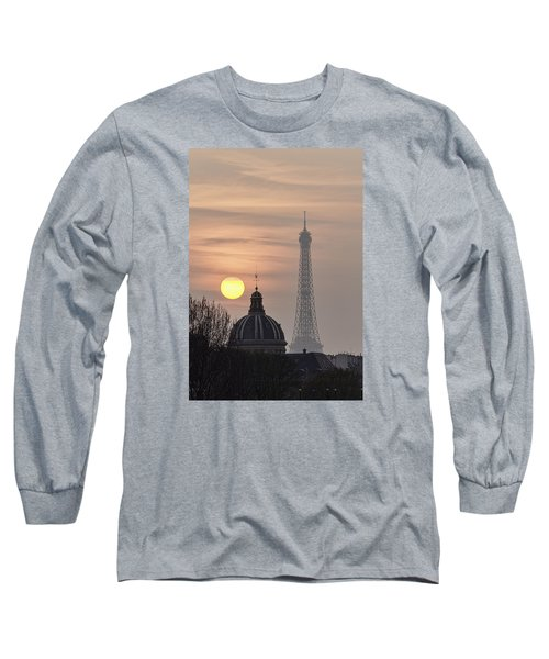 Paris Sunset I Long Sleeve T-Shirt