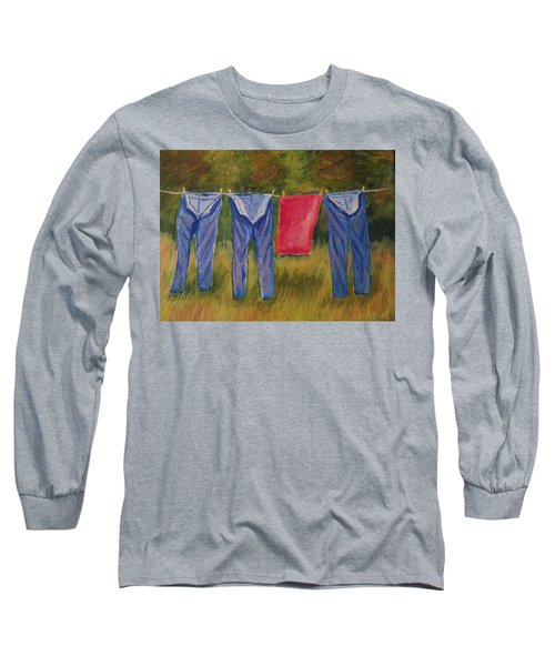 Pa's Trousers Long Sleeve T-Shirt by Belinda Lawson