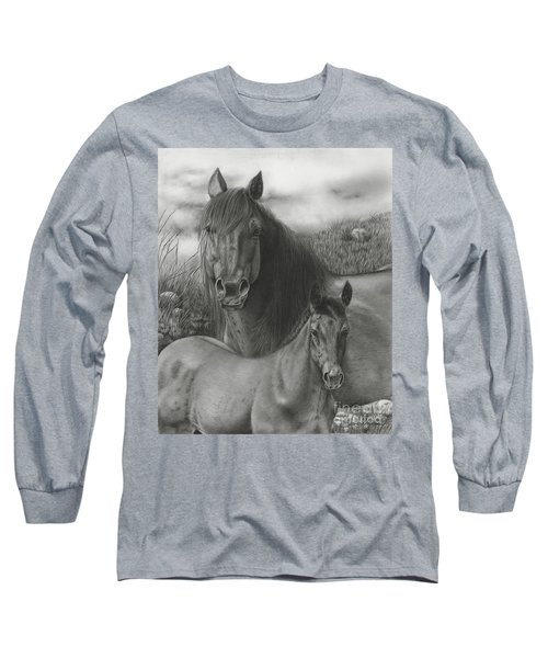 Passing The Mantel Long Sleeve T-Shirt
