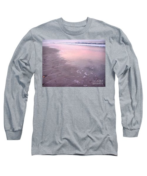 Pastel Beach Long Sleeve T-Shirt