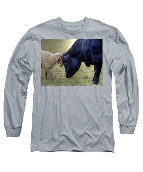 Pasture Pals Long Sleeve T-Shirt by Charlotte Schafer