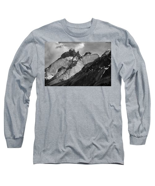 Patagonian Mountains Long Sleeve T-Shirt