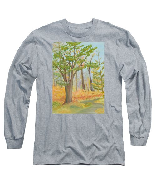 Path Of Trees Long Sleeve T-Shirt